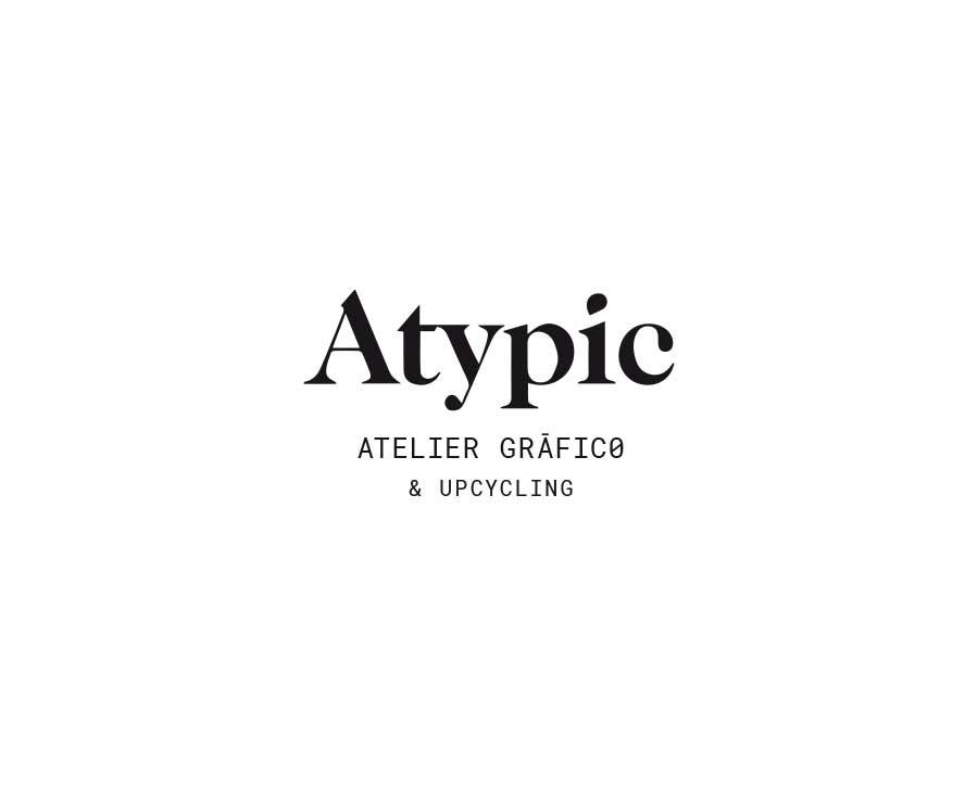 Diseño de logotipo de la marca Atypic
